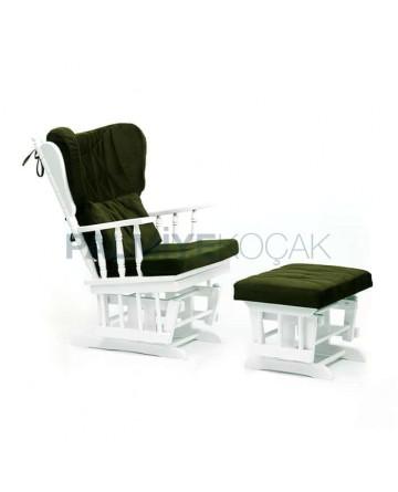White Lake Swinging Breastfeeding Seat