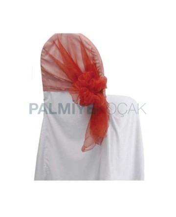 Beyaz Jarse Kumaş Sandalye Giydirme