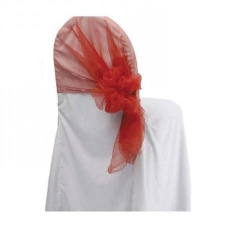 Beyaz Jarse Kumaş Sandalye Giydirme - gso298