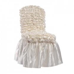 Bronze Satin Chair Dress Up