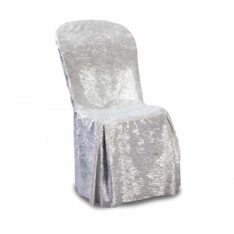 Kadife Plastik Sandalye Örtüsü Giydirmesi - gso306
