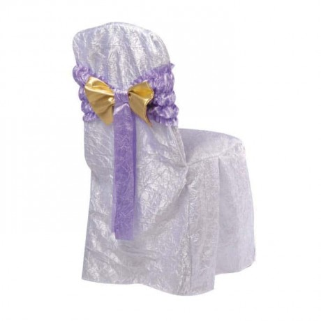 Wrinkled Satin Fabric Chair Dressing - gso310