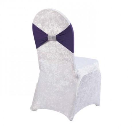Purple Belted Velvet Chair Dressing - gso318