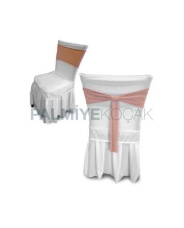 Stretch White Fabric Chair