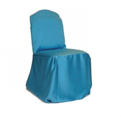Turkuaz Saten Kumaşlı Sandalye Giydirme - gso331