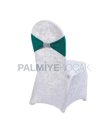 Green Fabric Velvet Chair