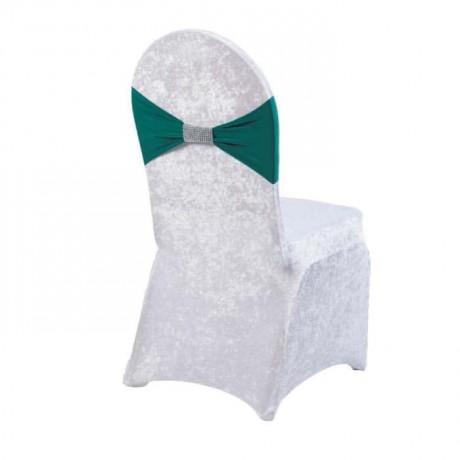 Green Fabric Velvet Chair - gso320