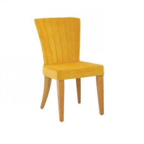Sarı Kumaşlı Sarı Boyalı Poliüretan Sandalye - psa627