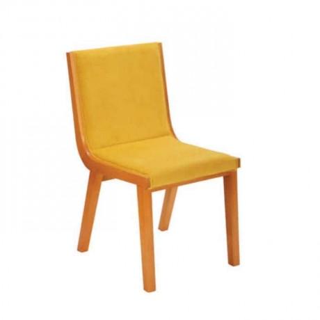 Sarı Kumaşlı Sarı Boyalı Poliüretan Sandalye - psa635