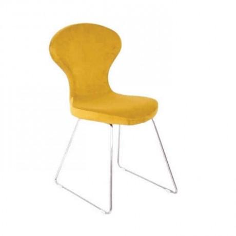 Sarı Poliüretan Cafe Sandalyesi - psd232