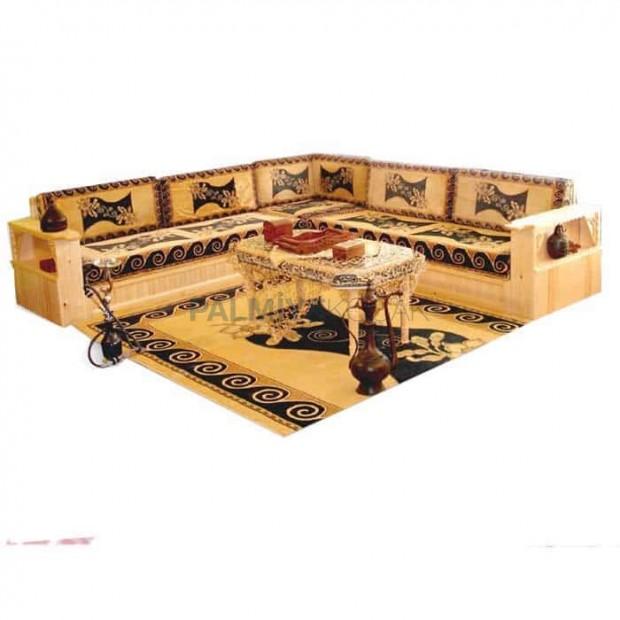 Rug Patterned Oak Walnut Hornbeam Beech Wood Manufactured Classical Orient Booths
