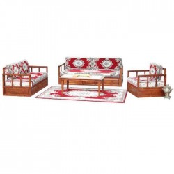 Classic  Seating Group Rug Carpet Patterned Oriental Booths