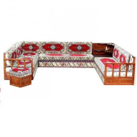 Classical U Shaped Wood Beech Walnut Oak Walnut Painted Oriental Booths