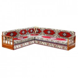 Ottoman Seljuk Classical Oriental Corner Seating Group