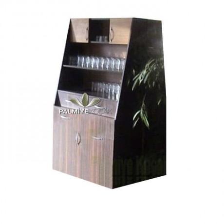 Ebony Mdflam Big Service Cabinet - ser4036