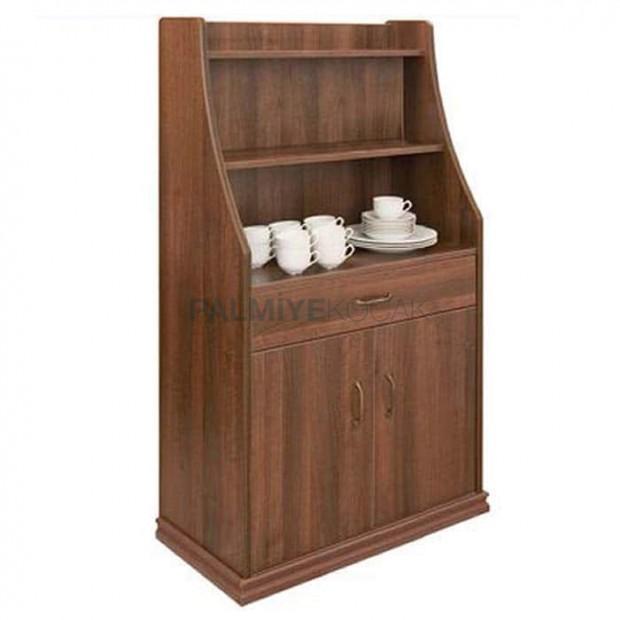 Wooden Polished Hotel Restaurant Great Service Cabinet