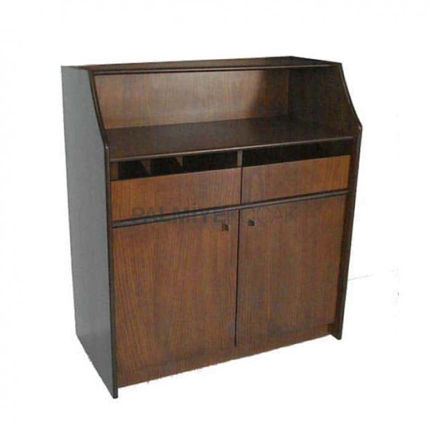 Wooden Coated Painted Service Cabinet