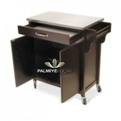 Black Lake Painted Service Cabinet