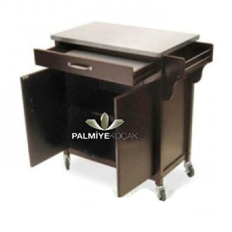 Black Lake Painted Service Cabinet - ser4021