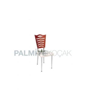 Sırtı Papelli Lokanta Sandalyesi