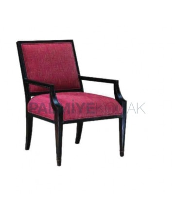 Classic Chair with Black Dyed Sleeves