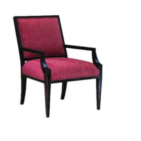 Siyah Boyalı Kollu Klasik Sandalye - ksak86