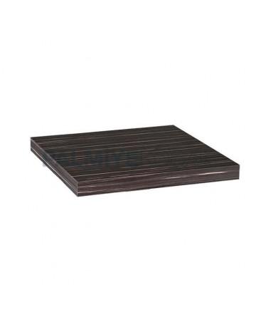 Ebony Skirt Square Surface Restaurant Table Top