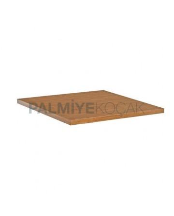 Square Fiberboard Cafe Table Top