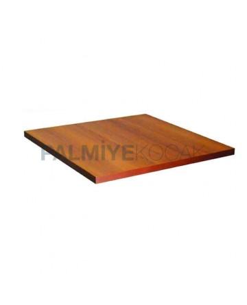 Edge Pvc Walnut Fiberboard Table Top