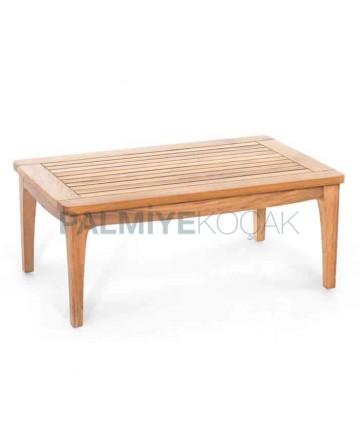 Four-Legged Teak Garden Table