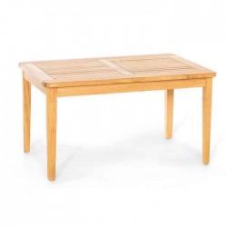 Conic Leg Teak Garden Table