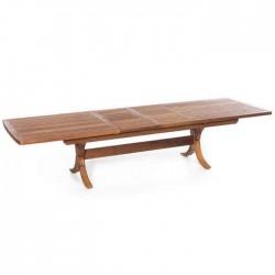 Drop Leaf Garden Teak Table