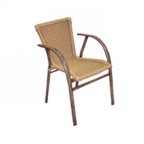 Telli Hasırlı Yatay Borulu Sandalye - alt08