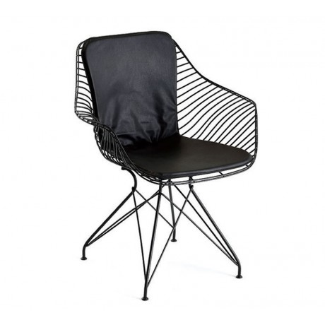 Piramit Ayaklı Yarasa Model Metal Sandalye Sağlam - Telli Metal Sandalye