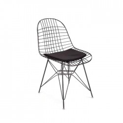 Cafe Restaurant Metal Wire Chair