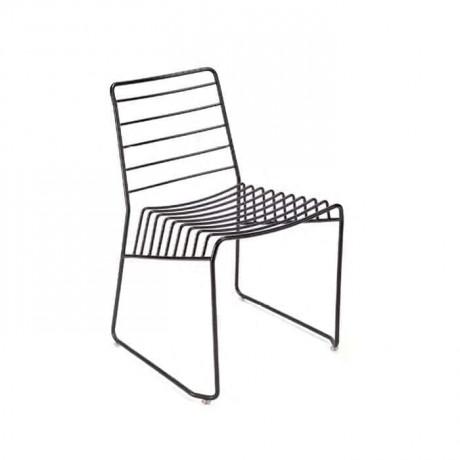 Telli Çubuk Demirli Metal Sandalye - tms7176