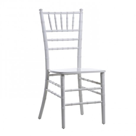 Wooden Silver Color Tiffany Chair - tfs4051