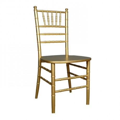 Golden Wood Tiffany Chair