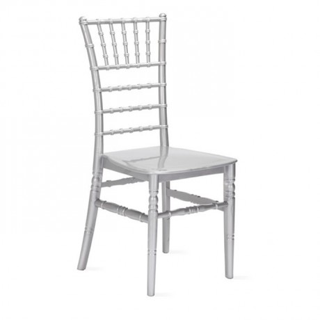 Silver Colorful Plastic Tiffany Chair - tfs4061