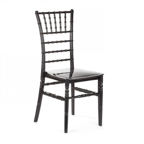 Plastic Tiffany Black Organization Chair - tfs4064