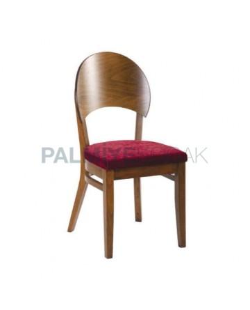 Açık Ceviz Boyalı Kontralı Tonet Sandalye