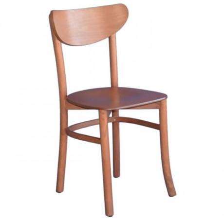 Açık Eskitme Ahşap Tonet Sandalye - ths9402s