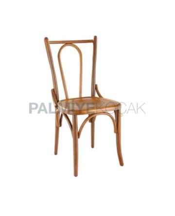 Açık Eskitme Klasik Thonet Sandalye