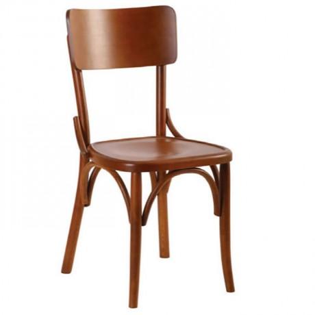 Ahşap Renkli Ahşap Tonet Sandalye - ths9529s