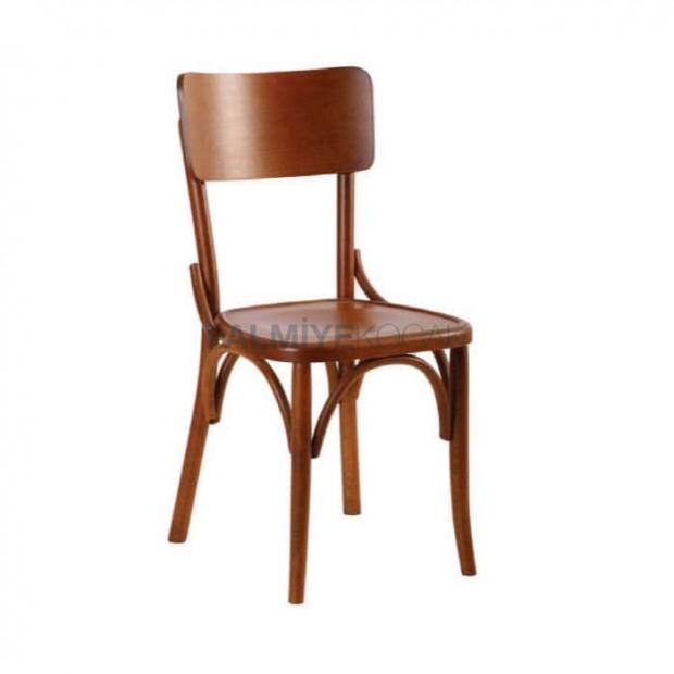 Ahşap Renkli Ahşap Tonet Sandalye