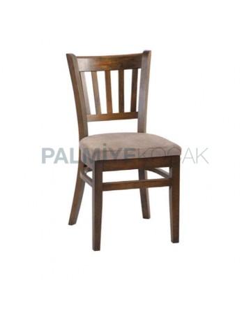 Ahşap Restoran Sandalyesi