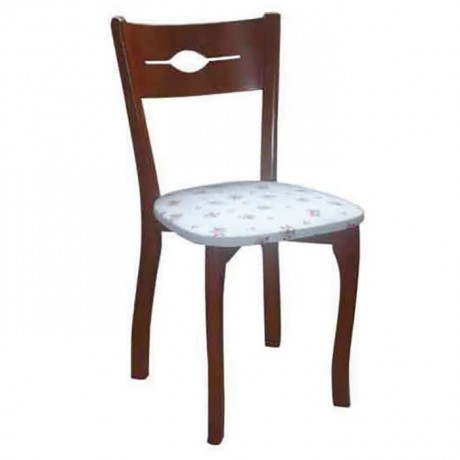 Polished Wooden Thonet Kitchen Chair - ths9030