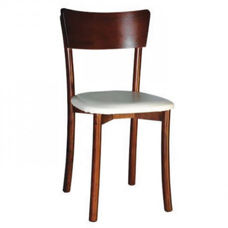 Upholstered Thonet Wooden Kitchen Chair - ths9027