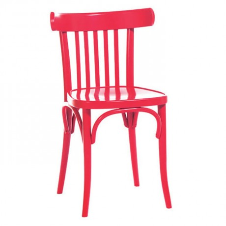 Kırmızı Lake Boyalı Tonet Sandalye - ths9500s