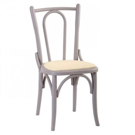 Klasik Ahşap Tonet Sandalye Patineli Boyalı - ths9509s